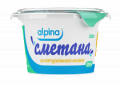 Sour cream from Alpina genuine milk