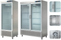Холодильный шкаф - стеклянная дверь  ECP-601 GLASSL