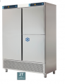 Refrigerating case with the ECPM-1203 freezer