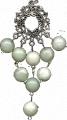 Suspension bracket with nephrite