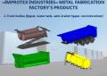 Truck bodies (tipper, water tank, semi-trailer tipper, concrete mixer)