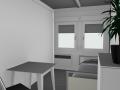Контейнер офисный 20-и футовый офисный блок-контейне