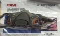 3M 6100 half mask respirator