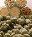 Bentonite for animal breeding