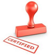 Order Certification