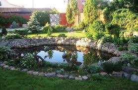 Заказать Строительство садовых водоемов