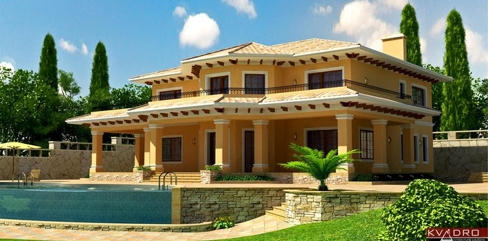 Order Construction of country houses of Kvadro Architectural Solutions, MMC