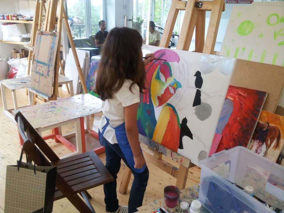 уроки живописи для детей: