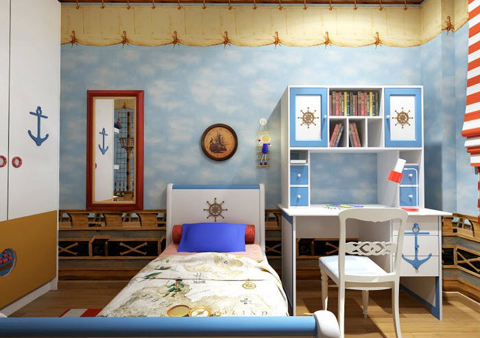 Order Repair of a nursery for the boy of Kvadro Architectural Solutions, MMC
