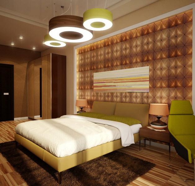 Order Design of a bedroom in modern style of Bak
