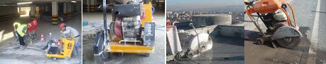Order Services of joint cutting of concrete