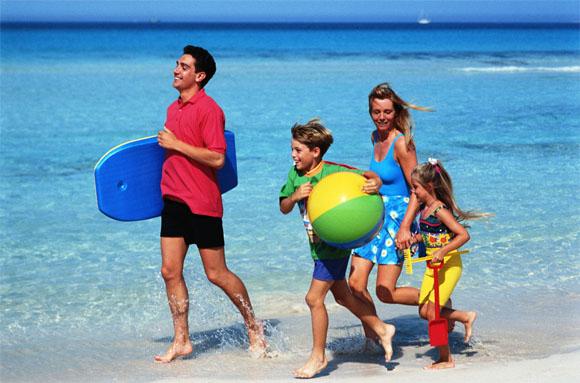 семейный детский туризм