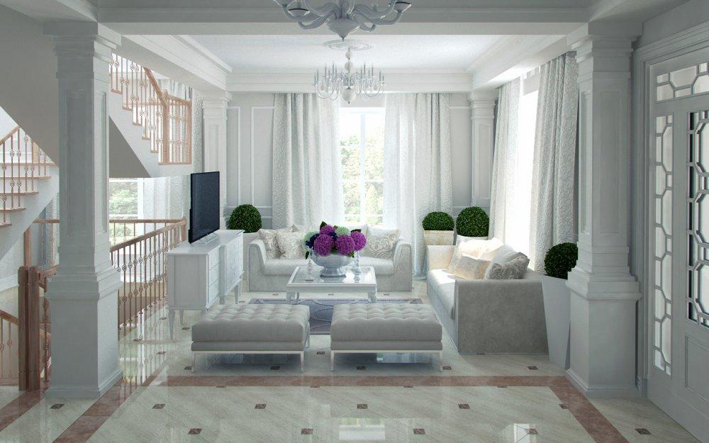 Order Interior design from the European studio Izum Design