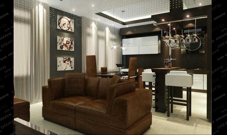 Заказать Разработка дизайна интерьера и мебели от UFO Design