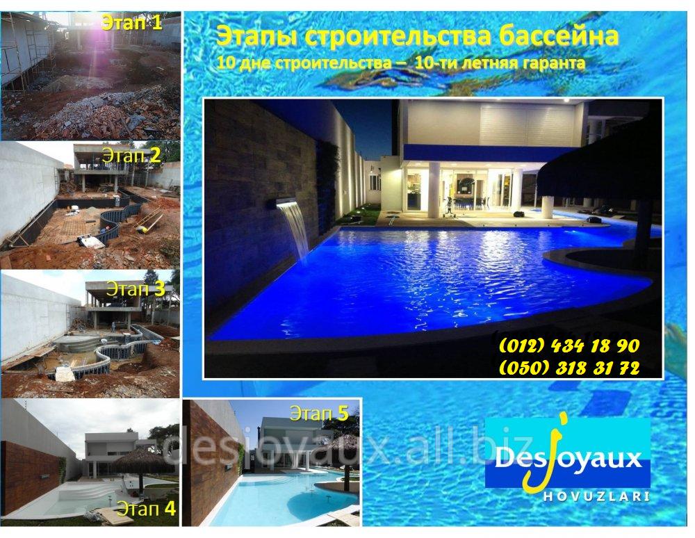 Заказать Строительство бассейнов предлагает Дежуайо - Азербайджан