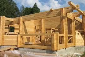 Заказать Строительство домов и коттеджей из бруса.