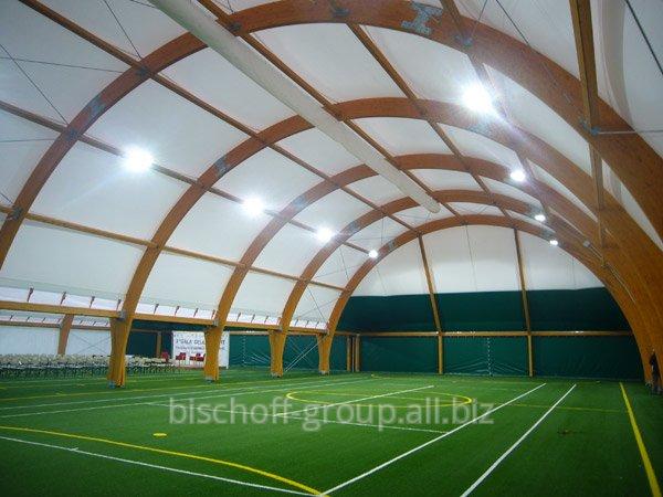 Строительство крытых и открытых спортивных площадок