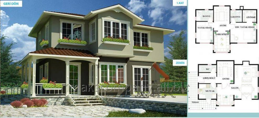Заказать Загородный дом - строительство