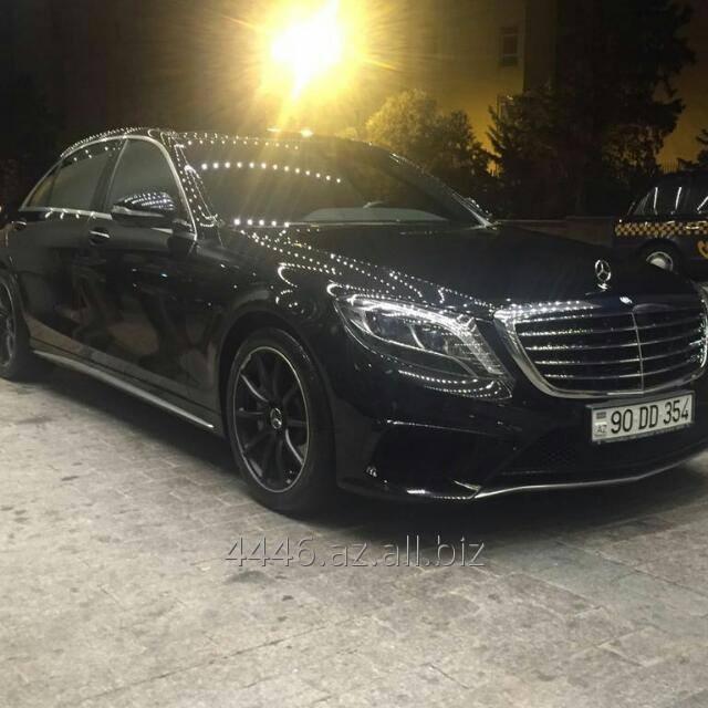Заказать Аренда автомобиля Mercedes S class 6.3 2016