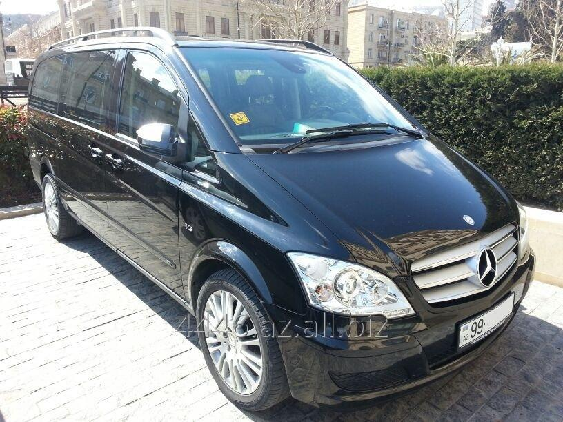 Заказать Аренда автомобиля Mercedes Viano VIP