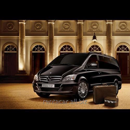Заказать Предоставление микроавтобуса в аренду Mercedes Benz Viano Vip