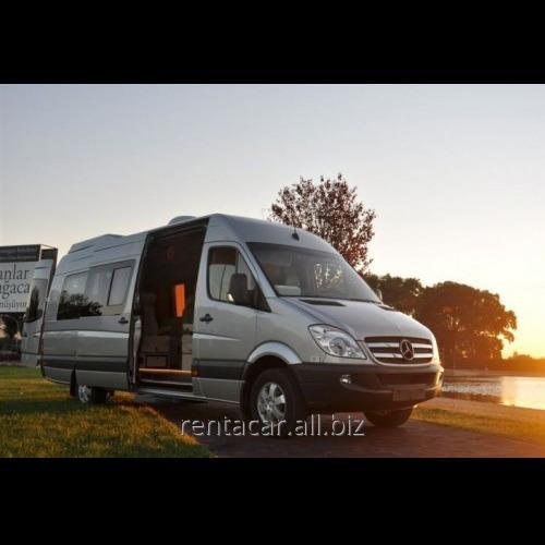 Заказать Микроавтобус напрокат Mercedes Sprinter 2012 Vip