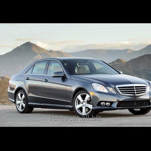 Заказать Прокат авто Mercedes E Class 2010-2012