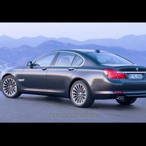 Заказать Авто напрокат BMW 740