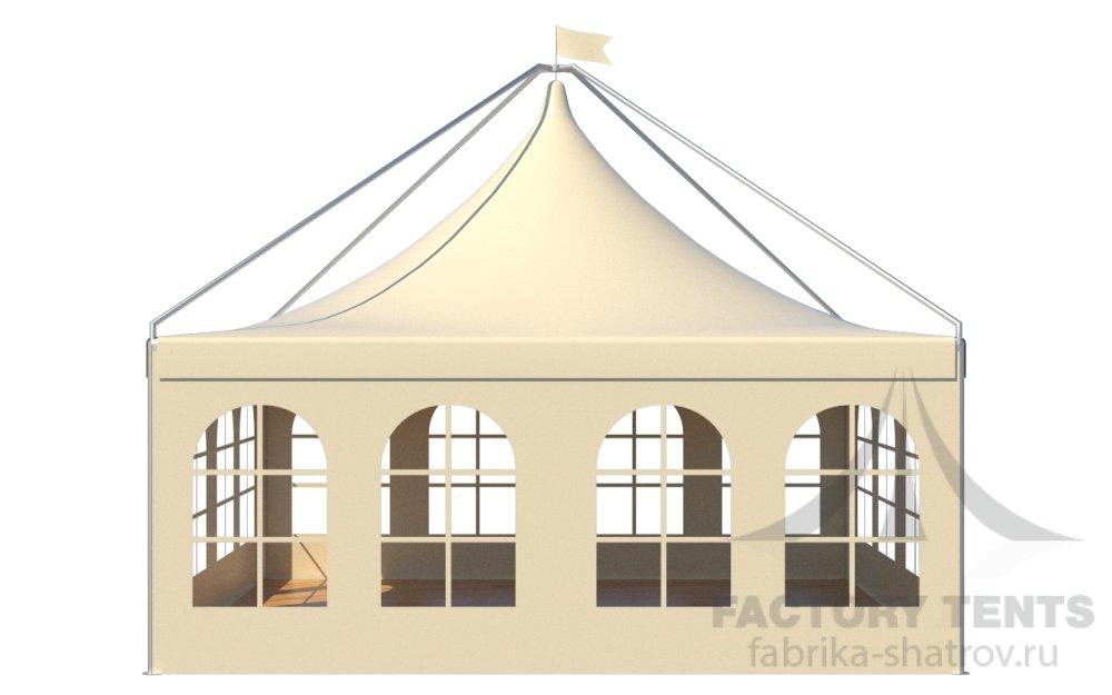 Заказать Аренда шатра Пагода Лондон 6х6