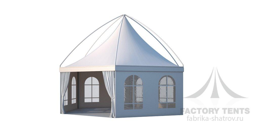 Заказать Аренда шестигранного шатра Лондон Диаметр 8м
