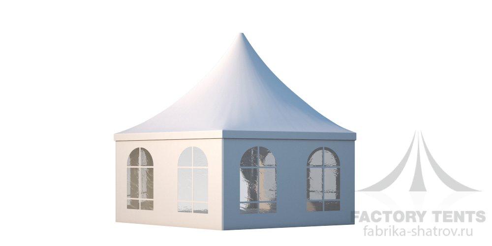 Заказать Аренда шестигранного шатра Римини Диаметр 8м