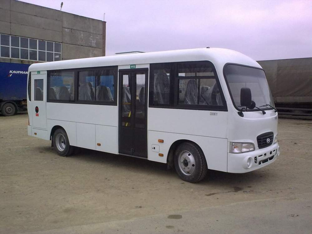 Заказать Аренда микроавтобуса Hyundai County