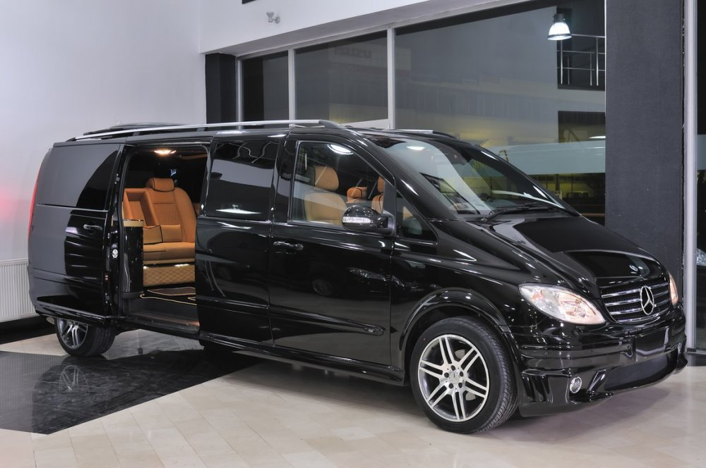 Заказать Аренда микроавтобуса Mеrcedes Benz VIANO VIP