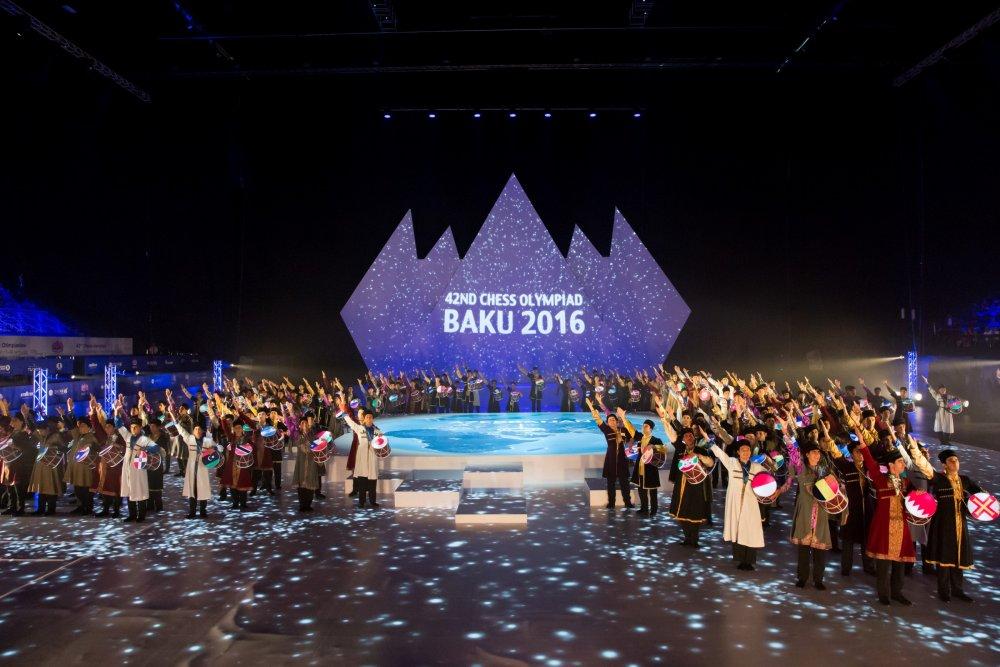 Заказать Открытие 42-ой Всемирной Шахматной Олимпиады