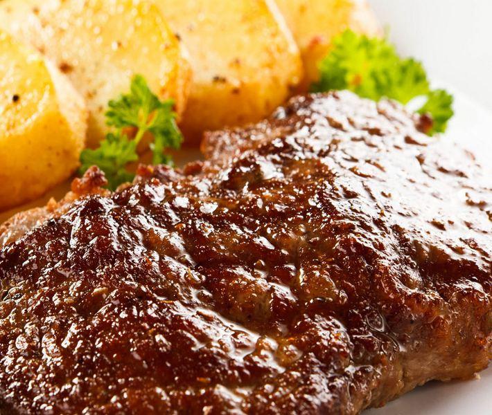 Заказать Приготовление вторых блюд: Мясо по-французски