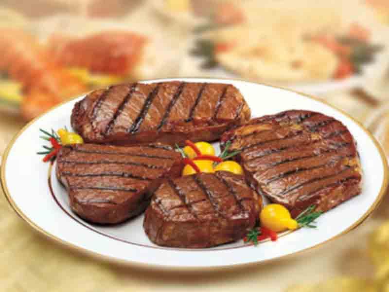 Заказать Приготовление вторых блюд: стейки