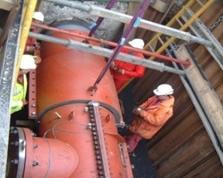 Герметизация утечек на трубопроводах