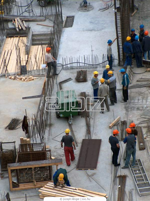 Order Services of construction crews