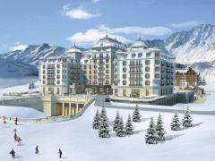 Alpine skiing rounds in Azerbaijan