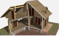 Услуги подряда по строительству зданий и...