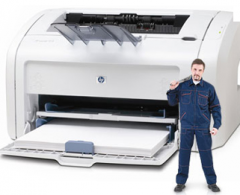 Repair of the Canon and HP laser printers