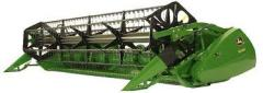 Repair of the cutting devices of harvesters