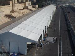 Assembly and installation of trade pavilions