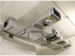 Mounting of conditioning systems and ventilation,