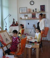 Курсы рисования, живописи и графики для детей старше 4-х лет