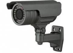 Color outdoor video camera with IK-illumination