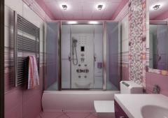 Дизайн ванной комнаты  в Азербайджане