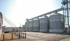 Storage of grain on elevators
