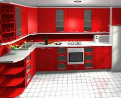Design repair of kitchen