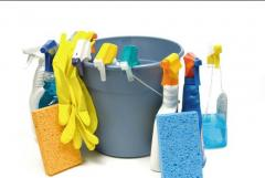 Cleaning and disinfection of bathrooms